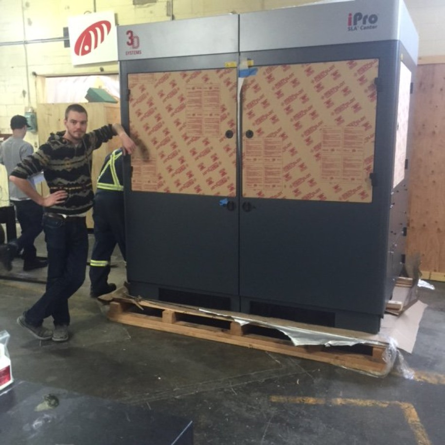 Agile Manufacturing Acquires The Largest SLA Printer In