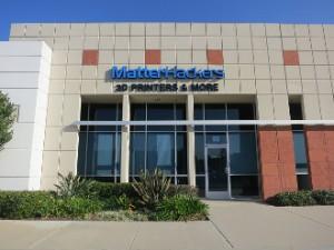 MatterHackers Showroom in Orange County, California