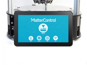 MatterHacks has the T1o MatterControl at the Maker Faire