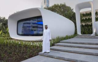 3D printed office unveiled in Dubai
