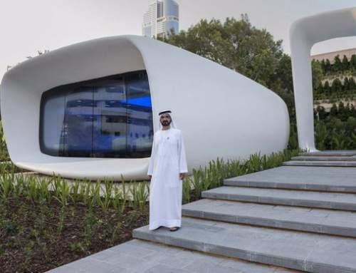 Dubai unveils 3D printed office