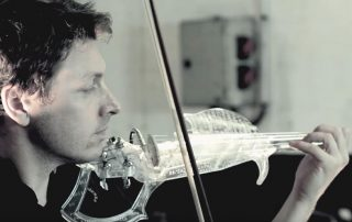 3Dvarius resin violin Kickstarter goes live