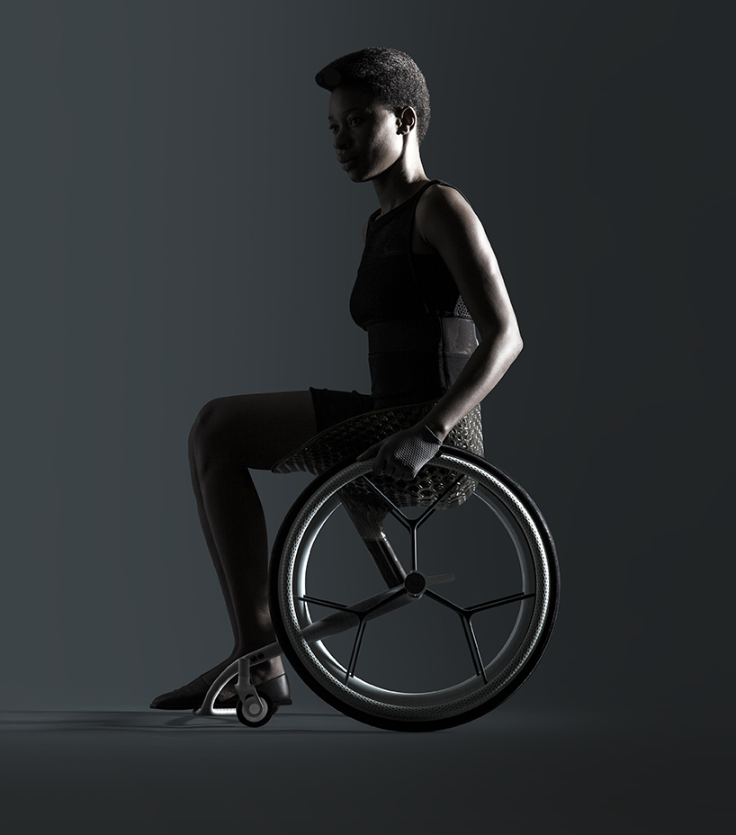 The world's first custom 3D printed consumer wheelchair