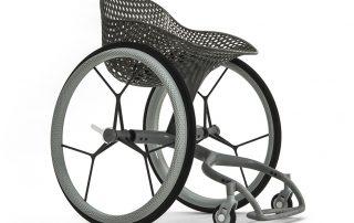 Layer's custom 3D-printed wheelchair looks like a step change