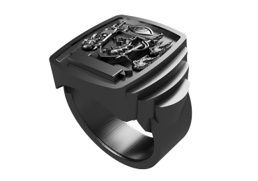 Gent's ring, a personal piece from Paul Michael Design and 3D printing