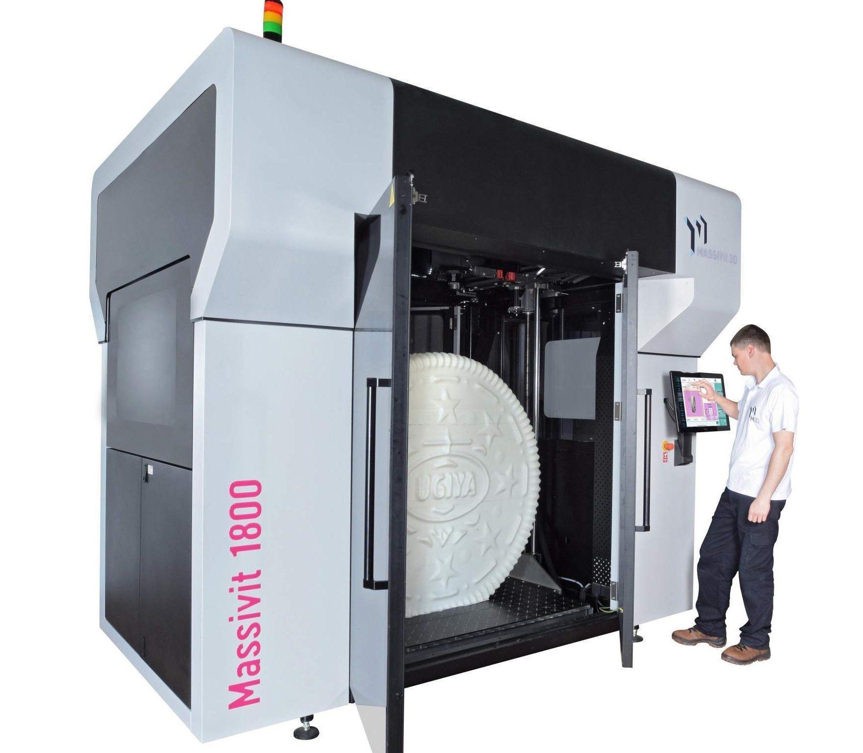 Massivit 1800 3D printer. Photo via Massivit.