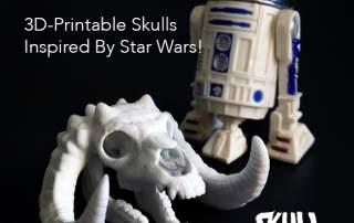 Skull Wars 3D-Printable