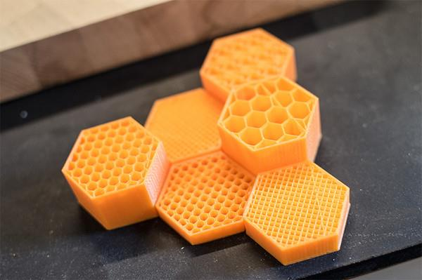 Type A Machines' Cura program can now create regular infill