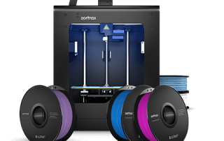 Zortrax M200 now comes with five spools of filament