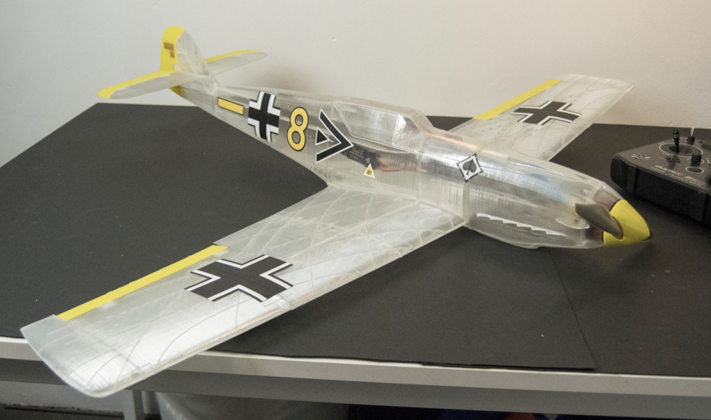 Dlabprint Expands Rc Airplanes For Desktop 3d Printing Of