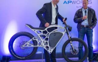 Airbus Light Rider motorcycle is 3D printed
