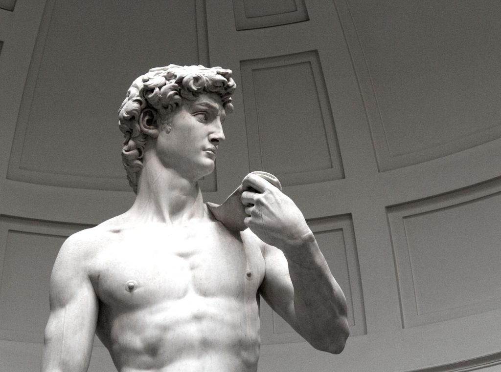 Put some clothes on MichaelAngelo's David with 3D printing