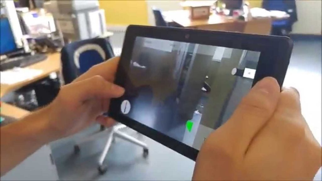 Google Tango 3D maps the world
