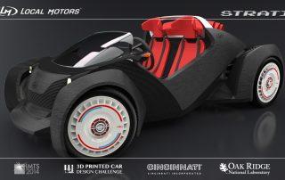 Local Motors Strati, the first full 3D printed car