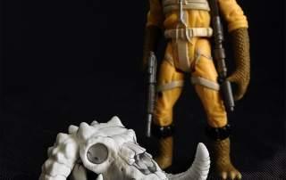 Skull Wars on Kickstarter. A Star Wars parody, with skulls