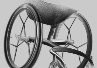 A 3D printed wheelchair is light, tailored and more efficient