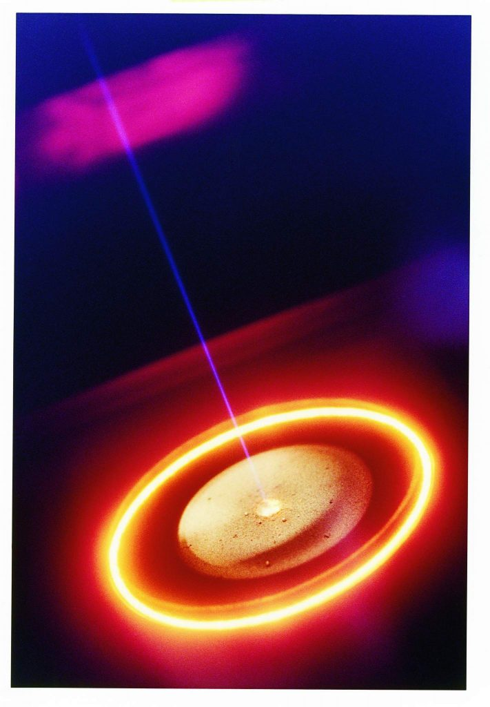 Electron Beam Melt Pool.