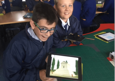 Australian kids in the Maker Empire Global Design Challenge