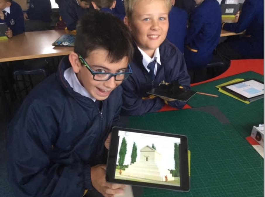 Australian kids in the Maker Empire Global Design Challenge