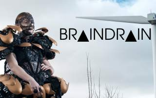 Braindrain, 3D printing and high fashion combine