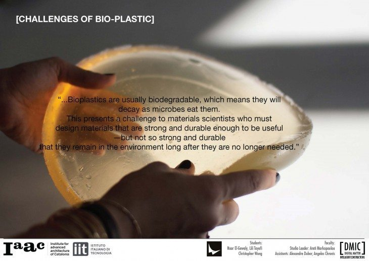 Bioplastic offers biodegradable and tunable plastic