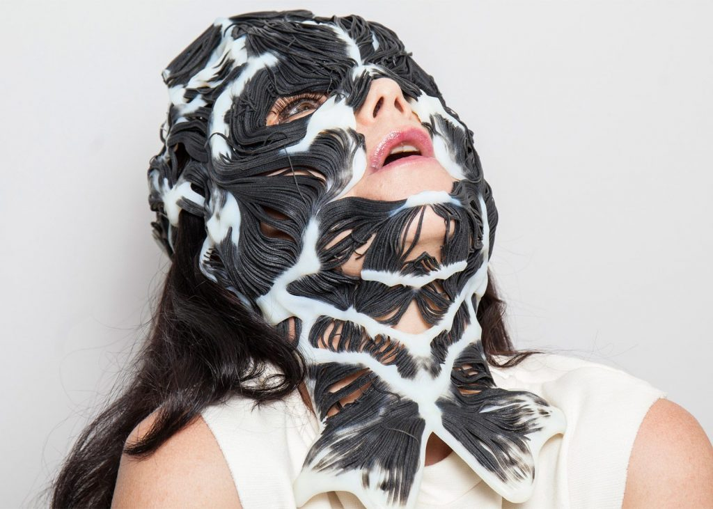 Neri Oxman mask for Bjork.