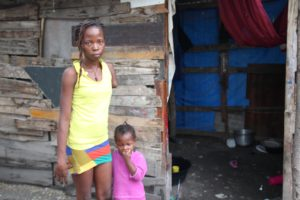 A tough life in Haiti made slightly better with a prosthetic limb