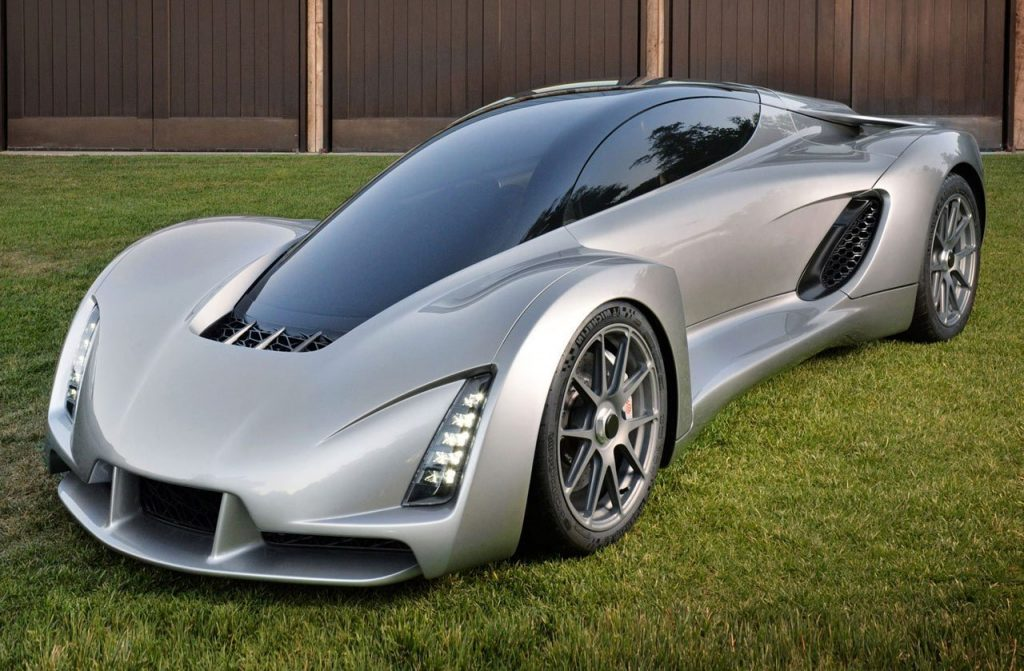 Divergent Blade, the first 3D printed supercar