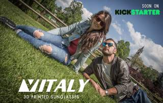 Vitaly Sunglasses, bespoke 3D printing for a tailored look