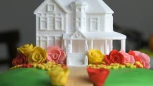 3D Printed Wedding Cake Design. Image via 3DChef.