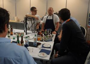 Vital testing equipment for 3D food printing.