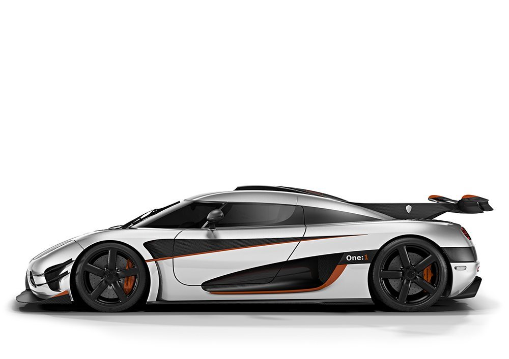 Koenigsegg One:1, it couldn't have happened without 3D printing