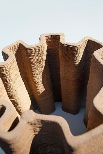 Pylos 3D prints complex structures from soil, is this the house of the future?