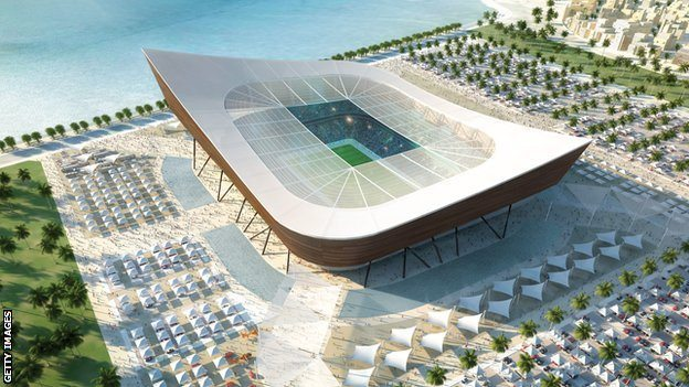 Qatar's stadiums will be 3D printed as models and wind tunnel tested