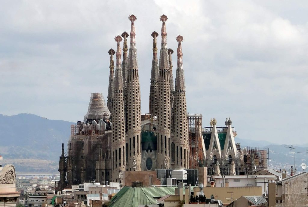 Sagrada Familia, Gaudi's unfinished masterpiece in Barcelona. 3D printing will complete his vision.