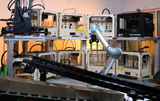 Trend.Ai offers robotics control for your microfactory