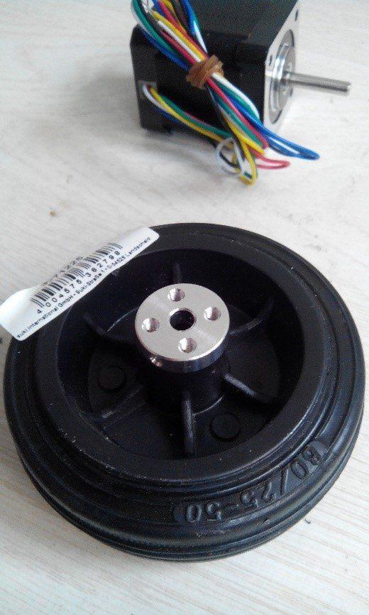 wheel attach