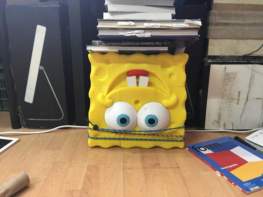 3DShook 3d printing spongebob 1