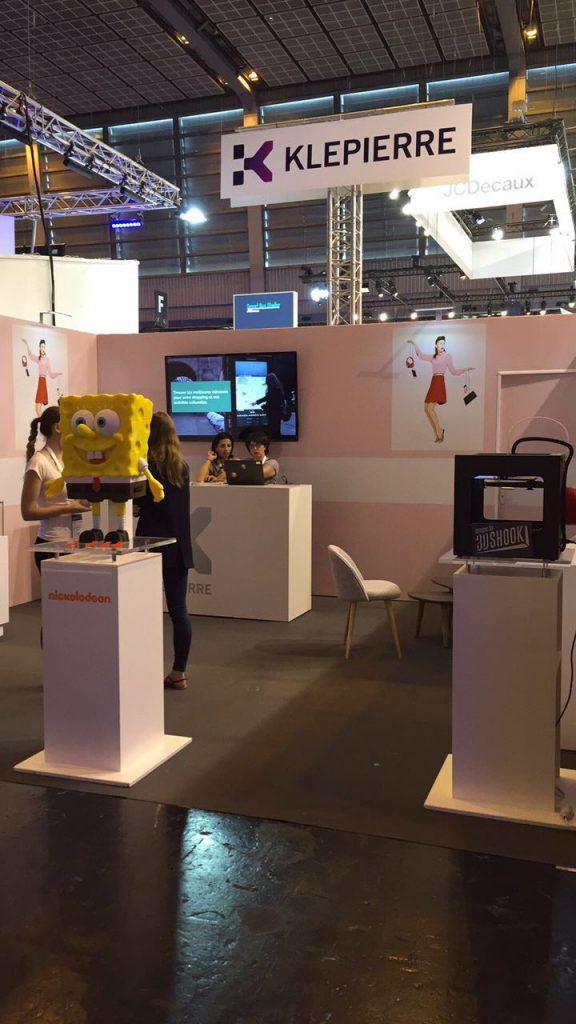 3DShook 3d printing spongebob 4 viva tech