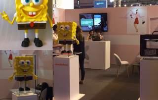 3DShook 3d printing spongebob 5 viva tech