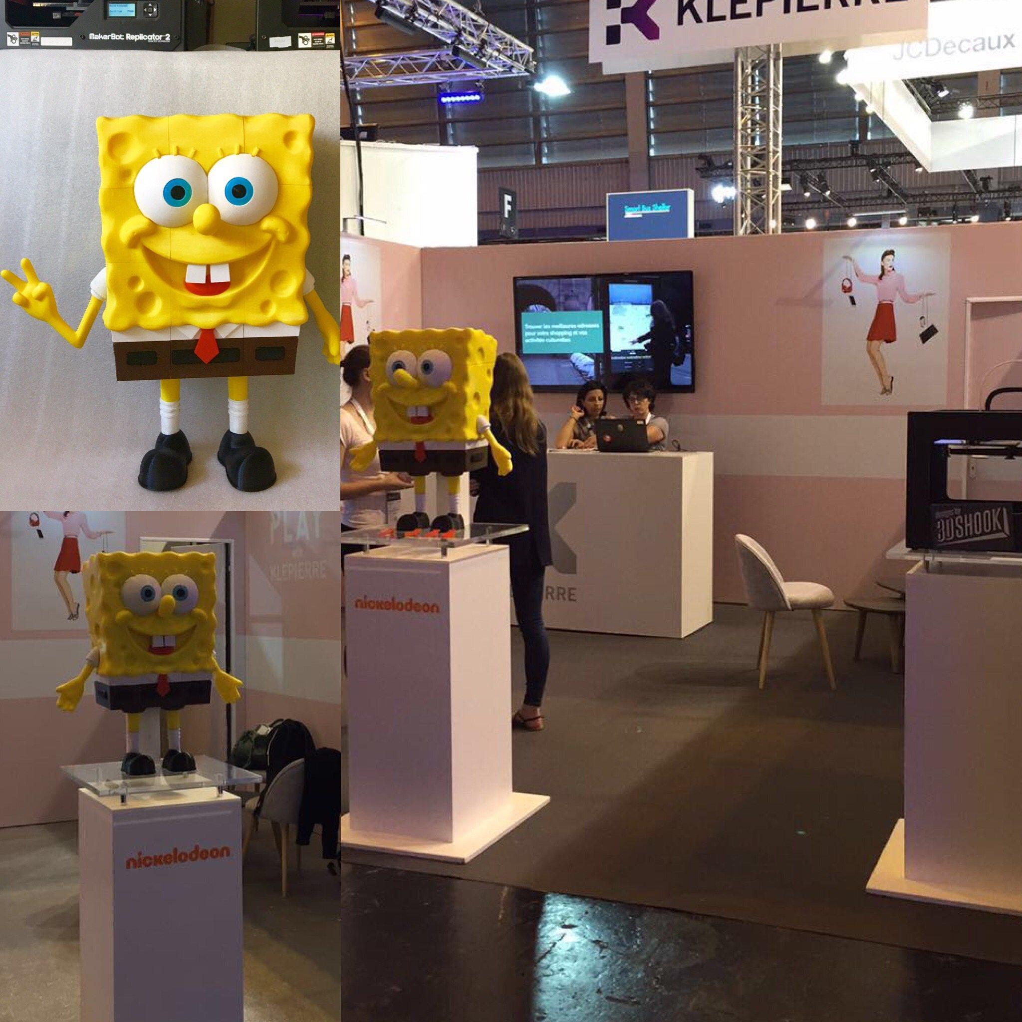 Giant 3D Printed Spongebob!