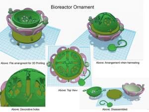 3dp Bioreacter Ornament