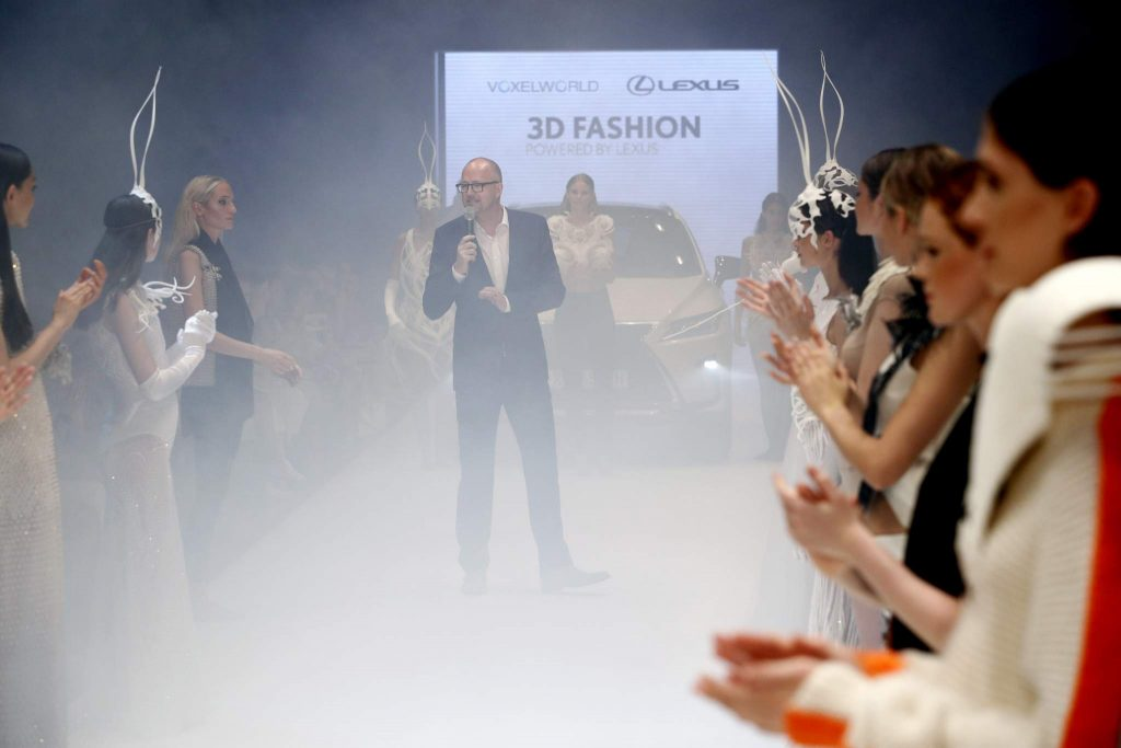 DUESSELDORF, GERMANY - JULY 23: A general view of the runway at the 3D Fashion Presented By Lexus show during Platform Fashion July 2016 at Areal Boehler on July 23, 2016 in Duesseldorf, Germany. (Photo by Andreas Rentz/Getty Images for Platform Fashion)