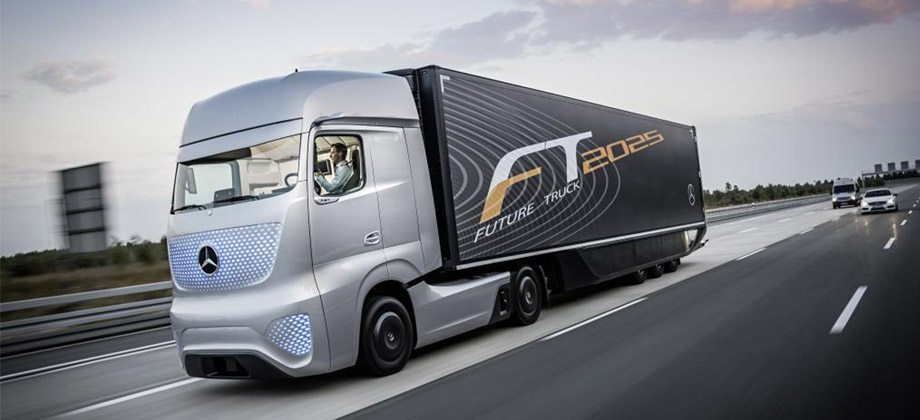 Future truck from Daimler