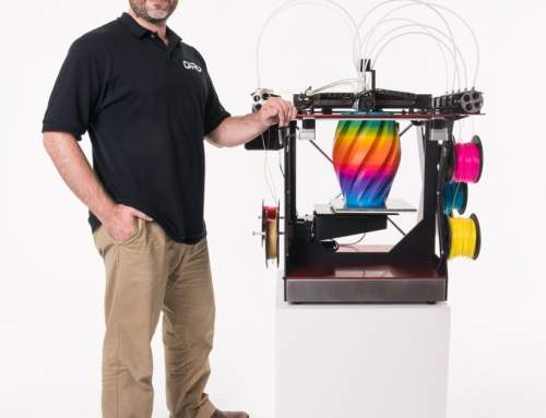 Full colour 3D printer on Kickstarter!