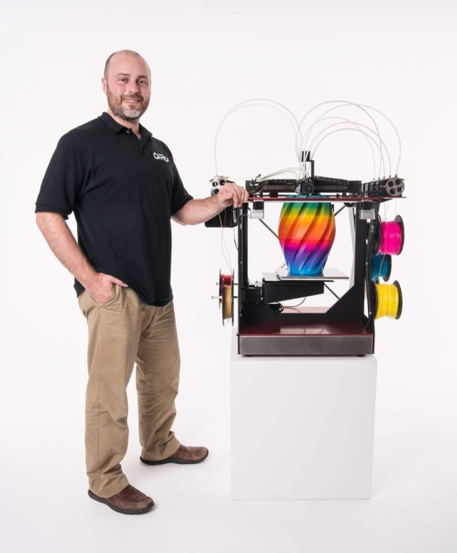 Full Colour 3D Printer On Kickstarter!