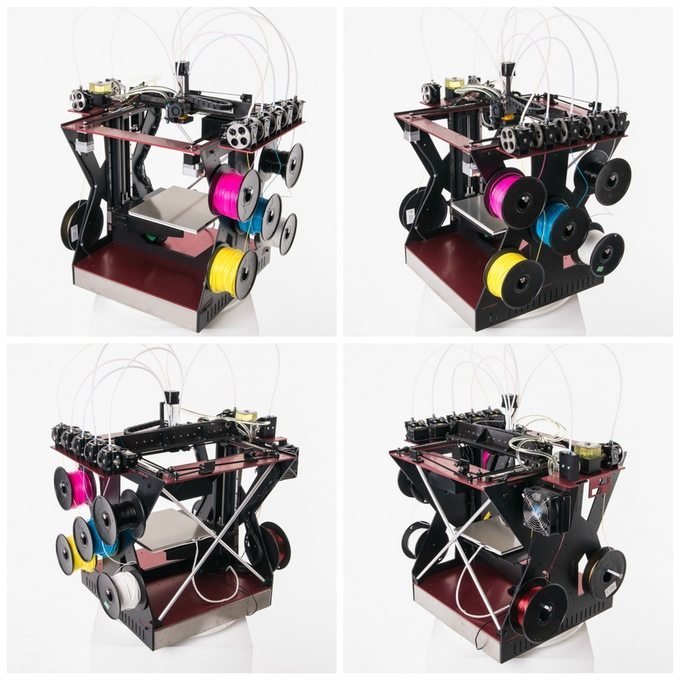 Rova3D, the five head full color3D printing device that we hope to see soon