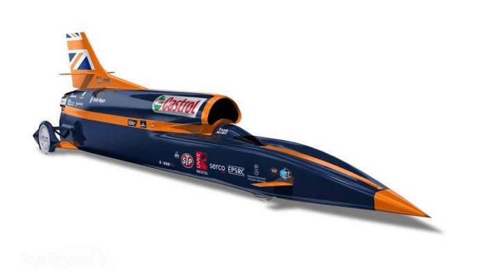 1,000 mph Bloodhound SSC