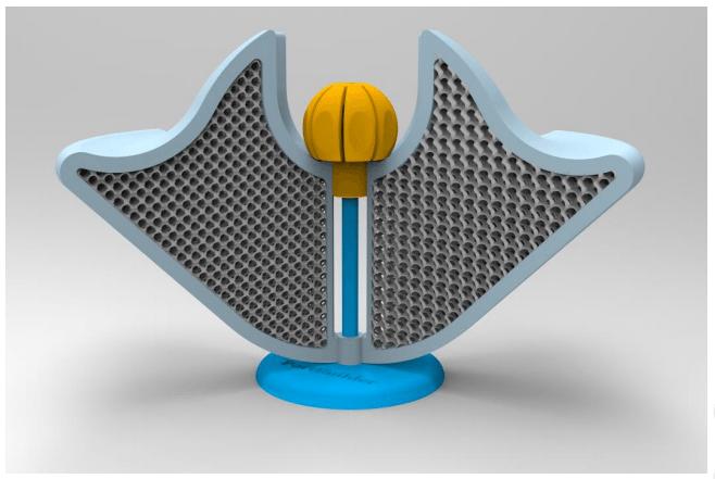 Magna Parva: 3D Printing for Mars