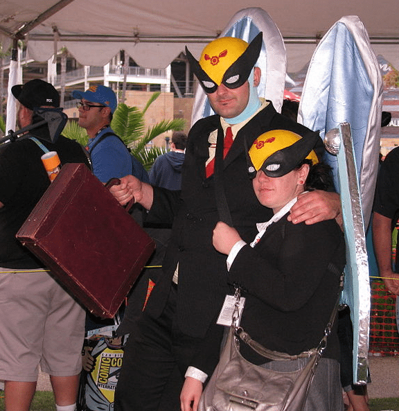 The IP landscape has changed: Cosplay of Harvey Birdman, Attorney in Law by William Tung.